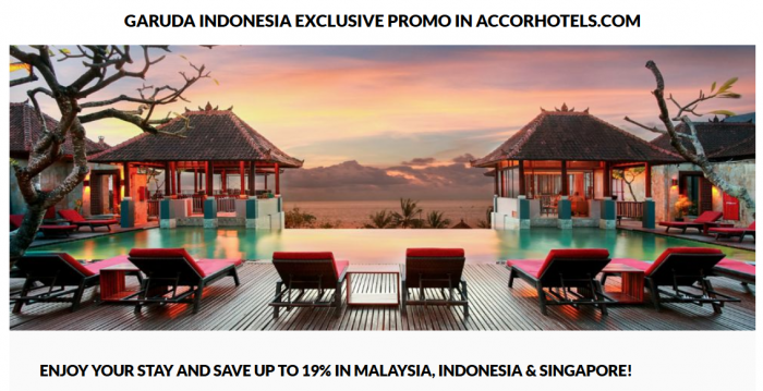 Le Club AccorHotels Garuda Indonesia 19 Percent Off Sale December 31 2016