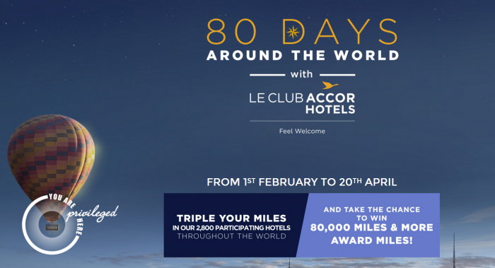 Le Club AccorHotels Lufthansa Miles&More Triple Miles February 1 - April 20 2016