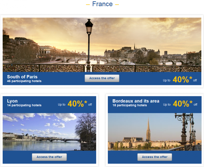 Le Club AccorHotels Weekly Up To 50 Percent Off Europe Private Sales February 1 - 7 France 1