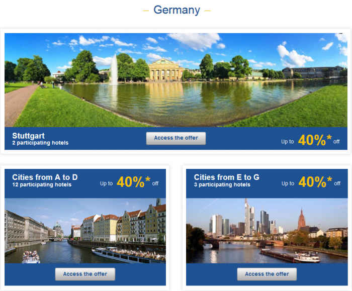 Le Club AccorHotels Weekly Up To 50 Percent Off Europe Private Sales February 1 - 7 Germany 1