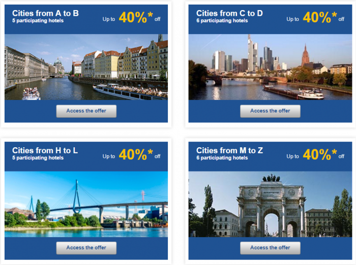 Le Club AccorHotels Weekly Up To 50 Percent Off Europe Private Sales February 15 - 22 Germany 2