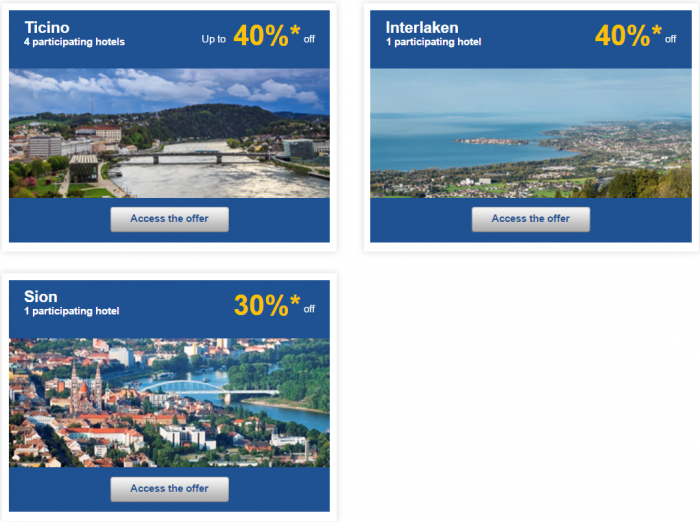 Le Club AccorHotels Weekly Up To 50 Percent Off Europe Private Sales February 15 - 22 Switzerland 2