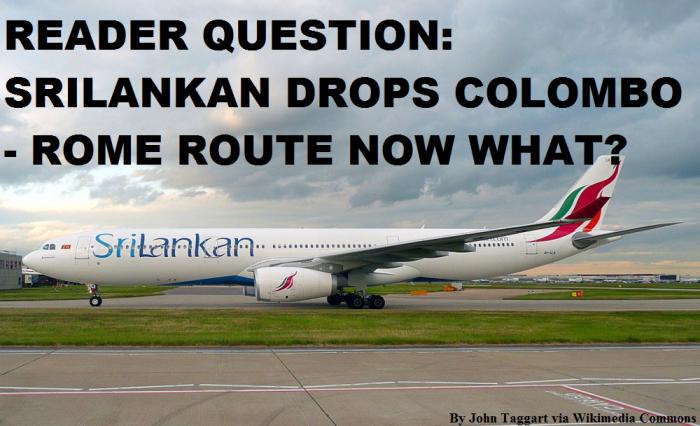Reader Question Sri Lankan Drops Rome