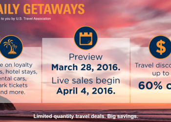 U.S. Travel Association Daily Getaways 2016