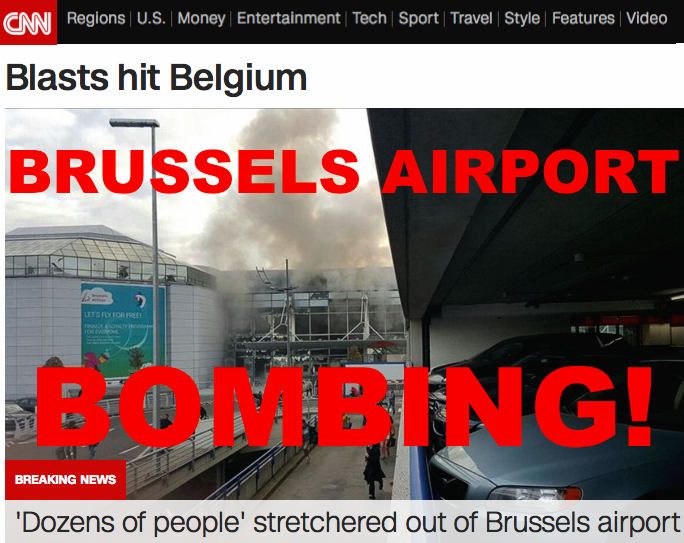 BRU Airport Bomb