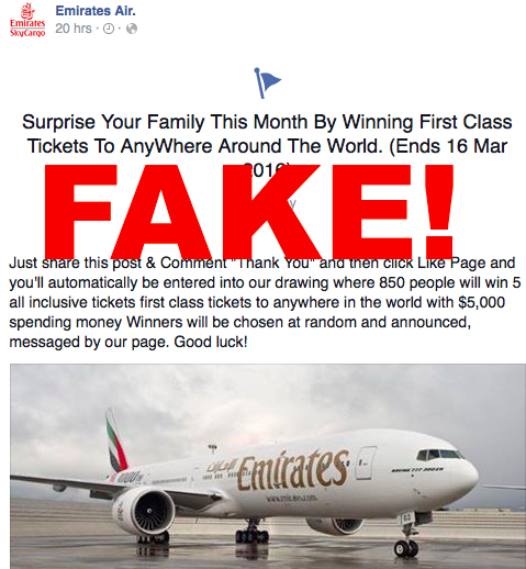 EK Fake Page