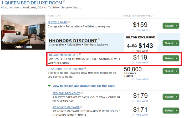 Hilton HHonors Americas 25 Percent Off March 24 - May 31 2016 Buenos Aires