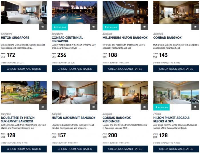 Hilton HHonors Asia Pacific Sale Southeast Asia