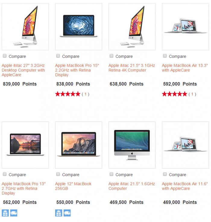 IHG Merchandise Rewards Apple 1