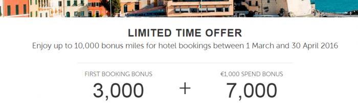 Kaligo Alitalia MilleMiglia 3,000 Bonus Miles First Booking March 1 - April 30 2016
