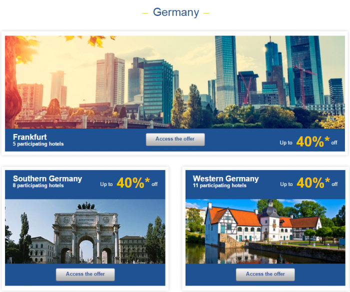 Le Club AccorHotels Weekly Private Sales March 15 - 21 2016 Germany 1