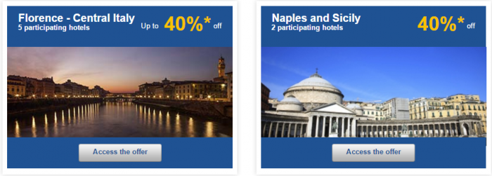 Le Club AccorHotels Weekly Private Sales March 15 - 21 2016 Italy 2