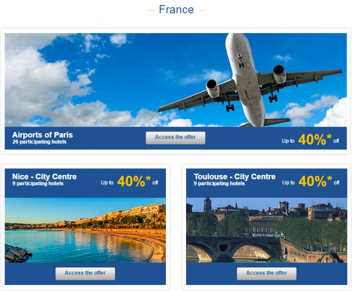 Le Club AccorHotels Weekly Private Sales March 22 - 28 2016 France 1