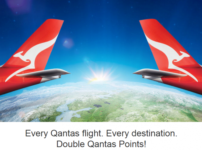 Qantas Frequent Flier Double Points
