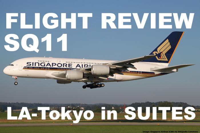 SQ A380 Flight Review