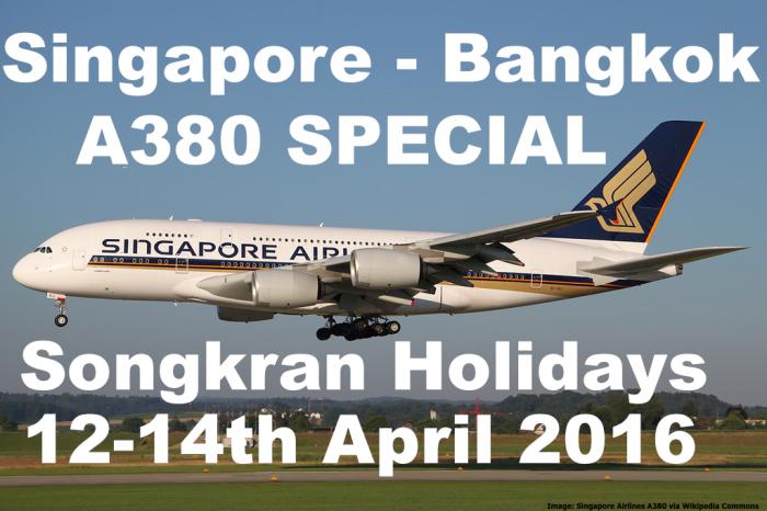SQ A380 SINBKK