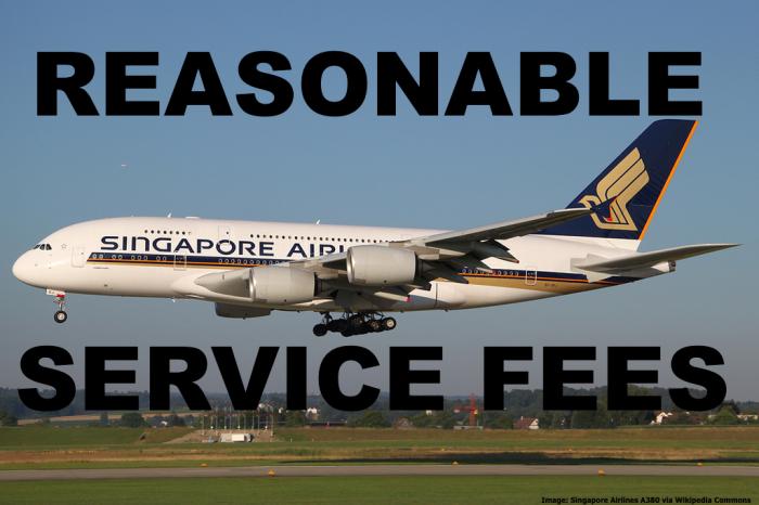 SQ KF Service Fees