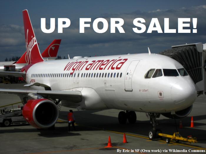 Virgin America For Sale