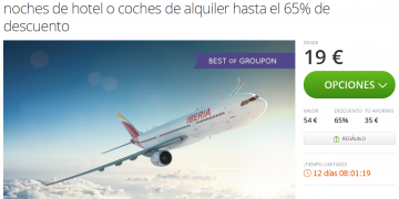 Groupon Spain Avios