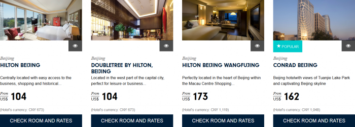 Hilton HHonors Asia Pacific Website Greater China 1
