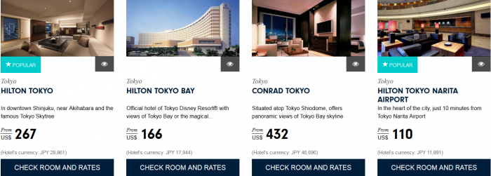Hilton HHonors Asia Pacific Website Greater Japan 1