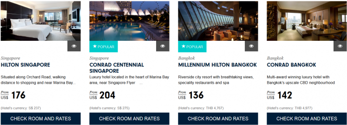 Hilton HHonors Asia Pacific Website Greater Southeast Asia 1