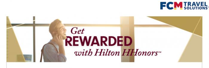 Hilton HHonors Gold Fast Track FCM