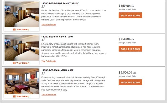 IHG Rewards Club InterContinental Ambassador Free Weekend Night Booking Link Rate Preference IC NYC 4