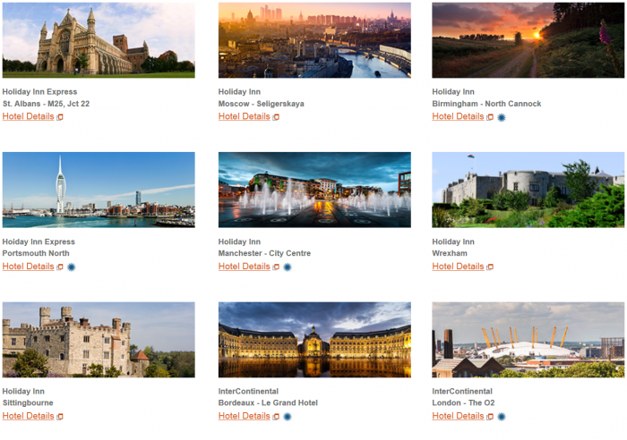 IHG Rewards Clun New Hotels Introductory Offers Europe April 2016 1