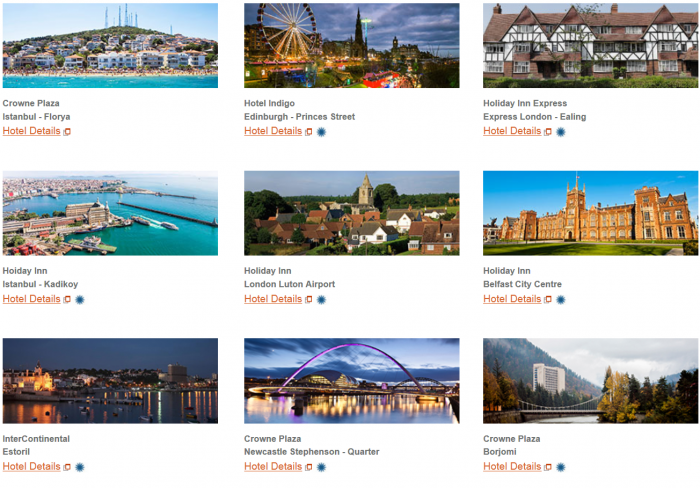IHG Rewards Clun New Hotels Introductory Offers Europe April 2016 2