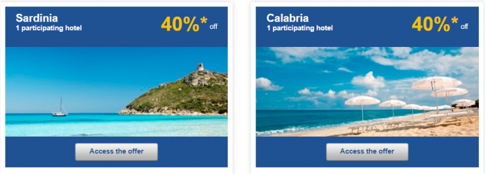 Le Club AccorHotels Weekly Private Sales April 12 - 18 2016 Italy 2