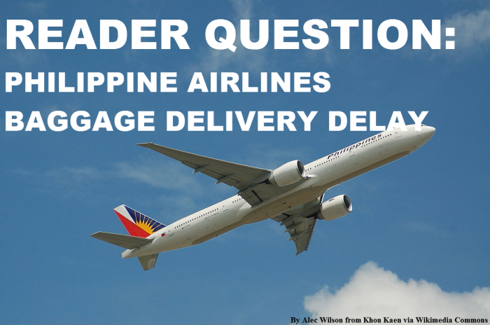 Philippine Airlines Baggage Delay