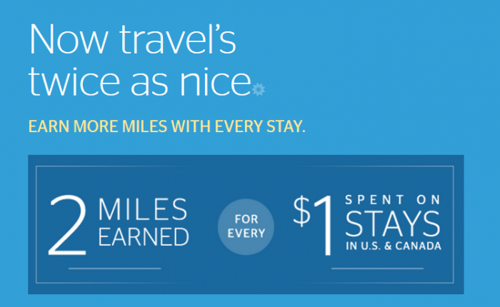 Starwood Preferred Guest Delta Air Lines Double Up Promotions April 1 - June 30 2016 U