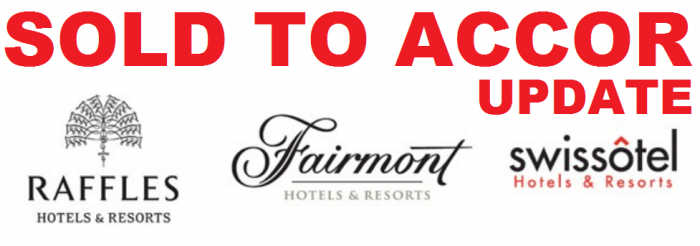 UPDATE FHRI Fairmont Swissotel Raffles Sold To Accor