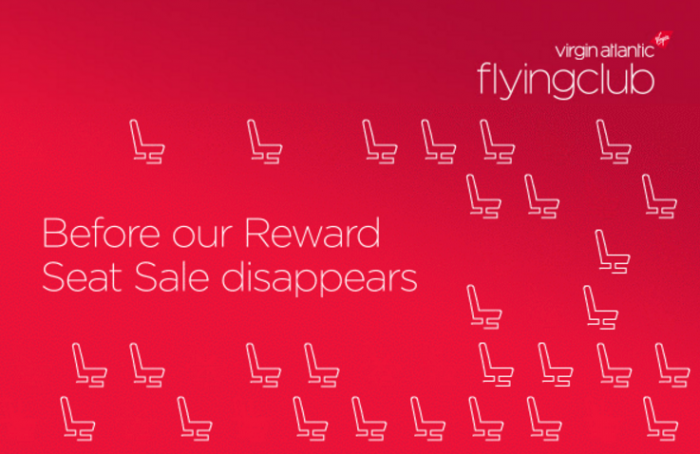 Virgin Atlantic Flying Club 30% Off Economy & Premium