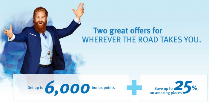 Wyndham Rewards Up To 6,000 Bonus Points EMEA April 18 - September 6 2016