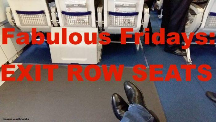 Exit Row Seating