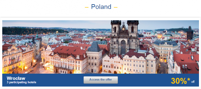 Le Club AccorHotels Europe Up To 50 Percent Off Private Sales May 10 - 16 2016 Poland 1