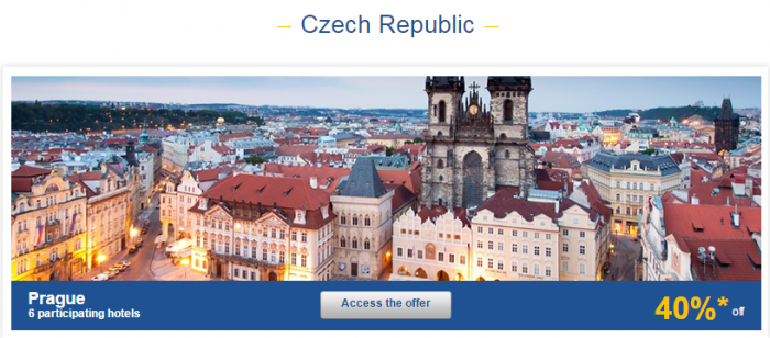 Le Club AccorHotels Europe Up To 50 Percent Off Private Sales May 24 - 30 2016 Czech 1