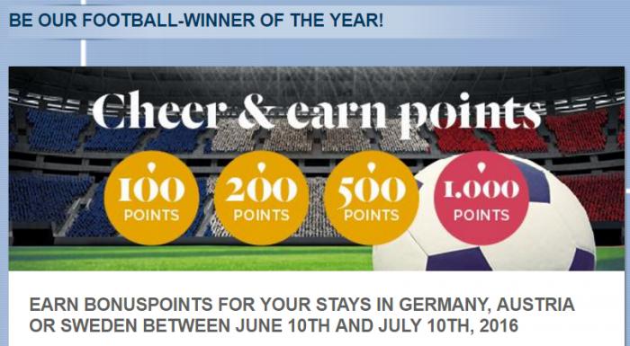 Le Club AccorHotels Germany, Australia & Sweden Bonus Points June 10 - July 11 2016
