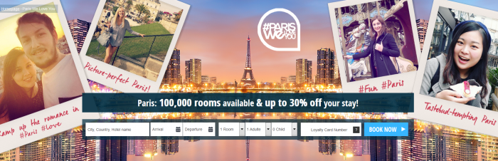 Le Club AccorHotels Paris Sale