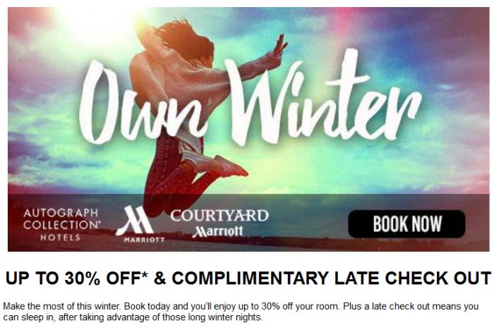 Marriott Australia Winter Sale