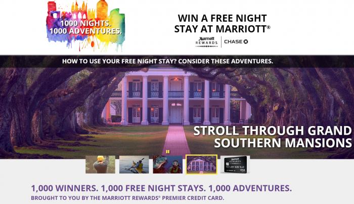 Marriott Rewards 1000 Nights Of Summer