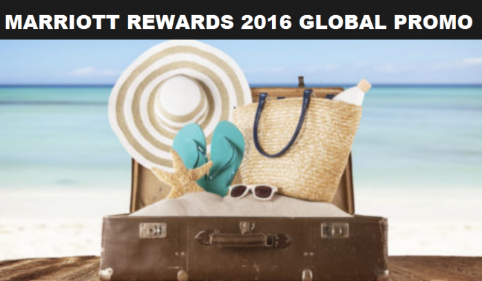Marriott Rewards 2016 Global Promotion Update