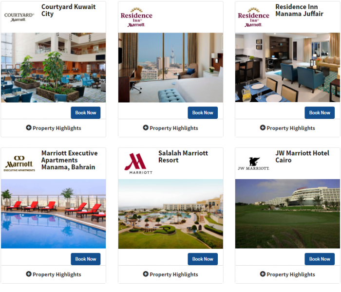 Marriott Rewards Middle East & Africa 3 For 2 May 15 - September 17 2016 5