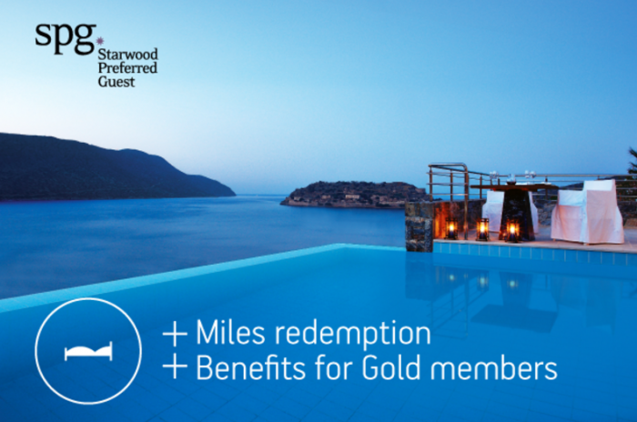Aegean Miles+Bonus Starwood Greece