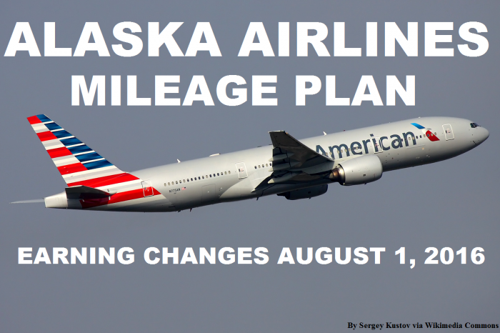 Alaska Airlines MileagePlan American Airlines Earning Changes August 1 2016