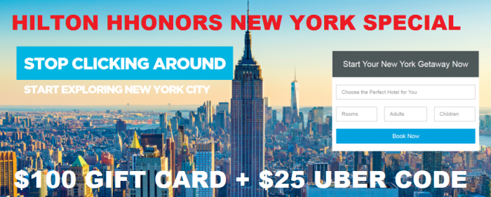 Hilton HHonors New York Special
