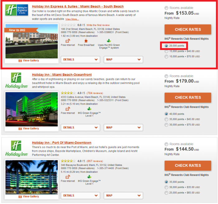 IHG Rewards Club Holiday Inn Express & Suites Miami Beach - South Beach