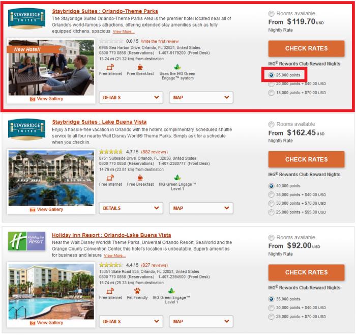IHG Rewards Club Staybridge Suites Orlando-Theme Parks